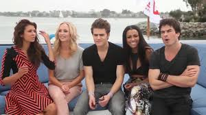 the vampire diaries cast funny u0026cute moments youtube