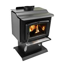 amazon com pleasant hearth 1 200 square feet wood burning stove