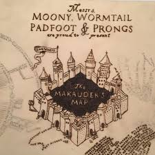 Harry Potter Marauders Map Harry Potter Marauder U0027s Map Box Emma U0027s Thread