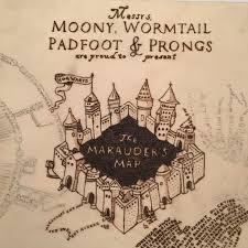 Harry Potter Map Harry Potter Marauder U0027s Map Box Emma U0027s Thread