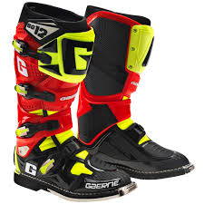 red dirt bike boots gaerne sg 12 boots jafrum