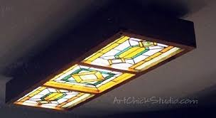 Stained Glass Ceiling Light Top Stained Glass Ceiling Light Panels Ideas Home Lighting