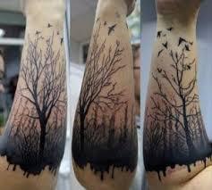 tree forearm tattoos ideas
