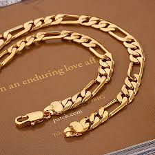necklace gold man images Xuping 18k gold man necklace 40827 _xuping jewelry jpg