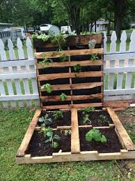 Pallet Ideas For Garden How To Make Your Pallet Garden Pallets Garden Gardens And