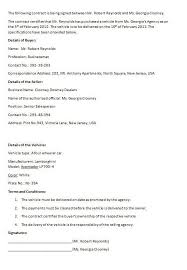 sponsorship agreement sponsorship agreement template sample form