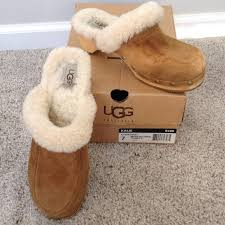 ugg australia clogs sale ugg ugg boots kalie chestnut clogs uggs sz 7 5426 from
