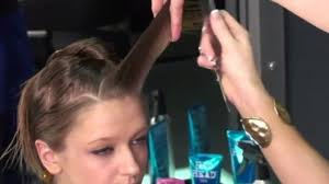 coupe sauvage haircut long hairstyle tutorial video dailymotion
