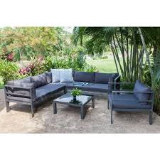 canape jardin table haute jardin meuble jardin reference maison