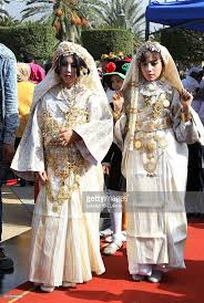 libyan in traditional clothing take part in celebrations