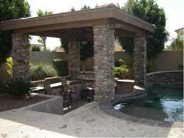 Arizona Backyard Landscape Ideas Backyard Oasis Shady Stone Ramadas In Glendale Arizona Desert