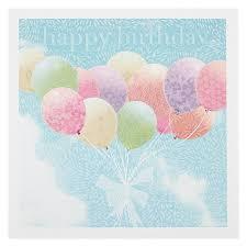 buy woodmansterne vintage balloons birthday card john lewis