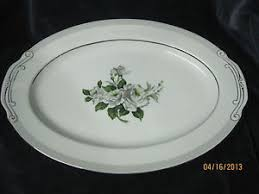 white china pattern 3939 vintage white japan china large platter pattern 3939