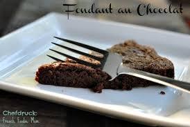 just a simple little french cake fondant au chocolat