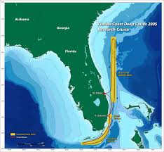 Florida Coast Map Noaa Ocean Explorer Florida Coast Deep Corals 2005