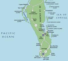 La Paz Mexico Map by Gallery U2014 Explora Baja