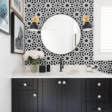 matte black bathroom faucet brizo 65375lf bl odin widespread 2