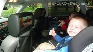toyota highlander dvd headrest autotain car headrest dvd customer testimonial 2010 ford f150