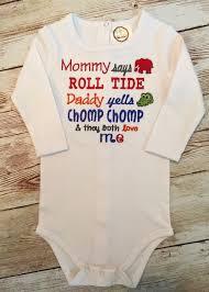 Notre Dame Infant Clothes House Divided Alabama Florida Onesie