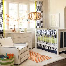 Zig Zag Crib Bedding Set Boy Baby Crib Bedding Navy And Citron Zig Zag 3 Crib
