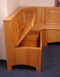 kitchen corner bench seating with storage design kitchen corner