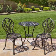 outdoor iron table and chairs patio bistro set outdoor table sets small metal aluminum antique