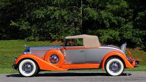 Gibbles Auto Upholstery 1934 Packard Eight 1101 Coupe Roadster S71 Dallas 2017