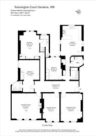 Estate Agents Floor Plans Thackerays Estate Agents Property For Let Kensington Court