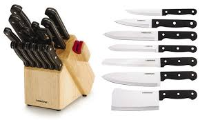 farberware kitchen knives 50 on farberware knife set 14 groupon goods