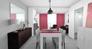 deco cuisine gris et blanc deco salle a manger gris idées décoration intérieure