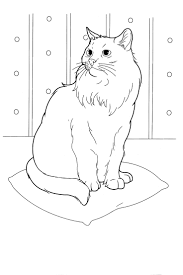 79 best favorite cat colouring pages images on pinterest