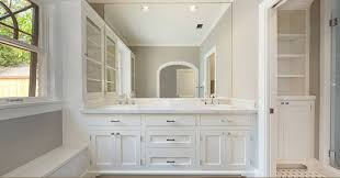 Ensuite Bathroom Furniture Built In Bathroom Cabinets Design Ideas