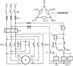 electrician wiring diagram for power circuit clockwise and the