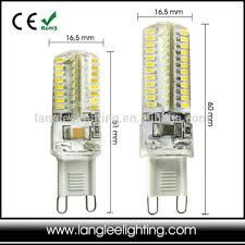 silicone light bulbs wholesale 3w 5w led g9 silicone compact light bulb for crystal chandelier