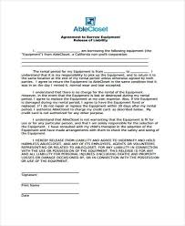 10 equipment release form samples free sample example format