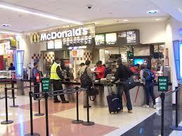 mcdonald u0027s concourse e in atl airport atlanta ga image