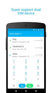 dialer apk zero dialer contacts block apk thing android apps free