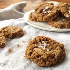 peanut butter cup cookies with sea salt gluten free u2014 urban apron