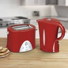 Red Kettle And Toaster Popay Ltd Electrodomestics Gibraltar