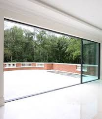 folding door glass iq glass minimal windows sliding doors 01 extension pinterest