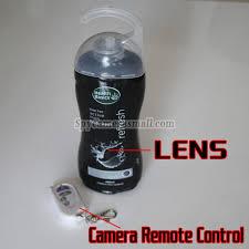 Spy Camera In Bathroom Sjampo Spionkamera 720p Dvr Full Hd 16g Bevegelsesaktivert Beste