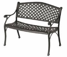shop all cast aluminum patio benches