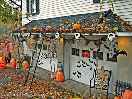 vintage halloween party ideas we had some fun trying to decorate the boring garage area for