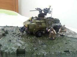 lego army tank heavy ifv lego amino
