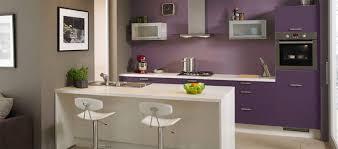 notre cuisine chez ixina parme et plan de travail gris maison