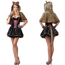 Leopard Costumes Halloween Compare Prices Woman Leopard Costume Shopping Buy