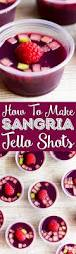 homemade sangria jello shots recipe sugar u0026 soul