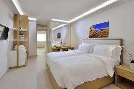 King Size Bed Hotel Nissaki Hotel Mykonos Boutique Hotel Near Platys Gialos Beach