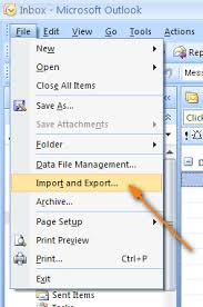 export contacts from outlook 2013 2010 or 2007 to excel