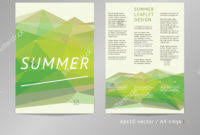 one sided brochure template one sided brochure template the best templates collection